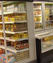 Premier supermarché en France avec du fluide Performax LT (R407F) / CO² en cascade.